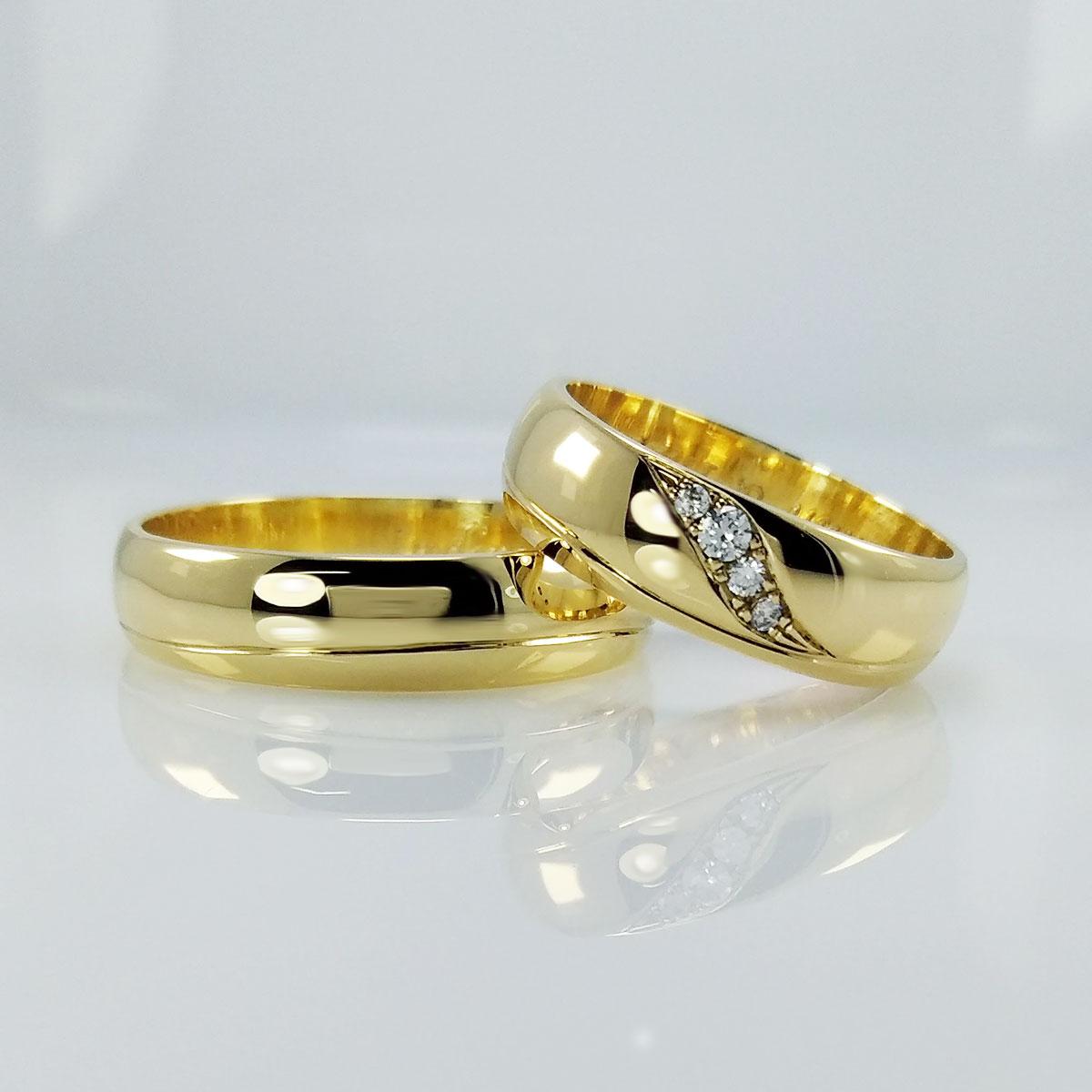 Argollas de matrimonio joyer a el se or de los anillos for Anillos de rodio precio